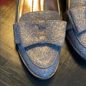Dolce Vita silver sparkle flats size 6.5 nwot
